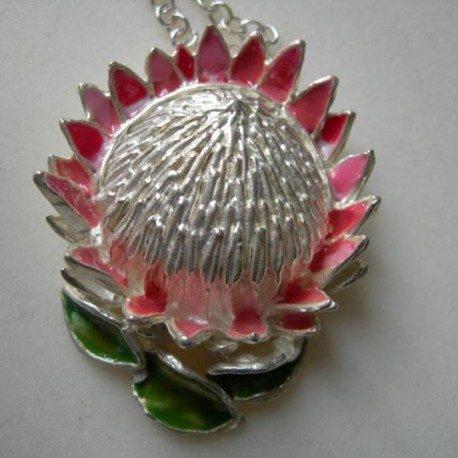 king protea pendant large