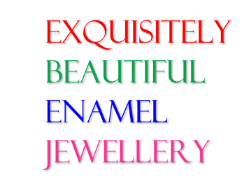 Hi! Welcome to my beautiful enamel & silver jewellery!