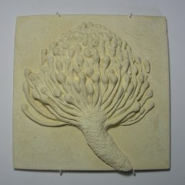 Pin-cushion tile