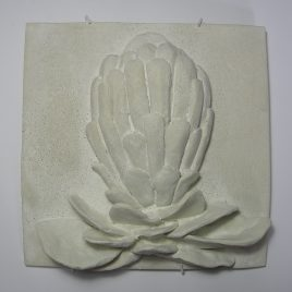 Queen Protea tile