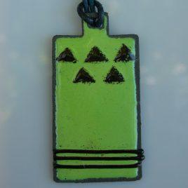 Ndebele pendant green
