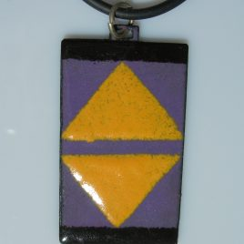 Ndebele pendant violet