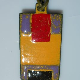 Ndebele pendant red