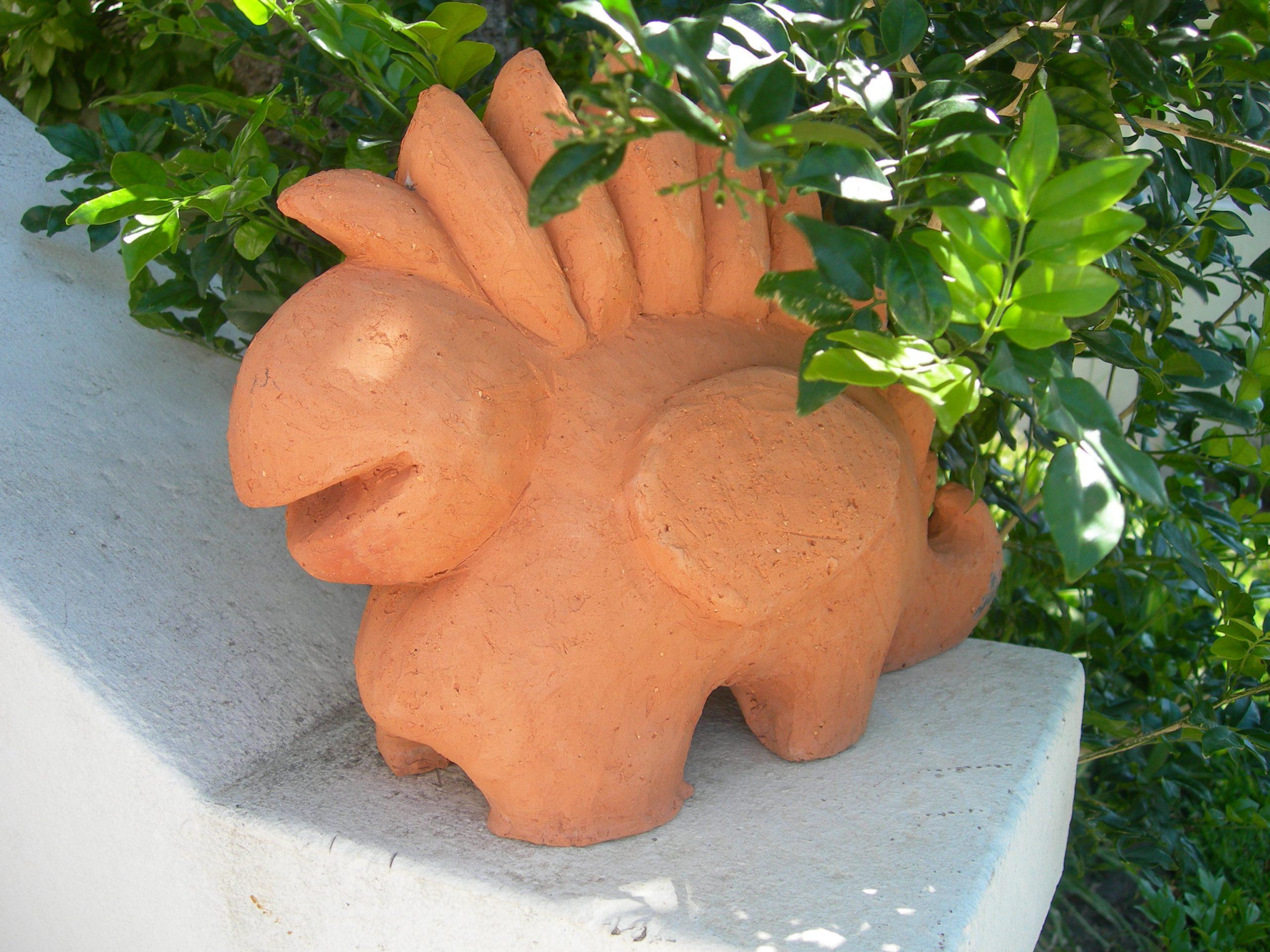 Gentle creature in terracotta 2