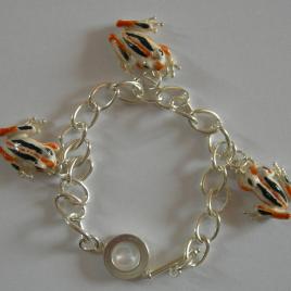Frog (small) bracelet