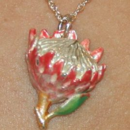 King Protea (small) pendant