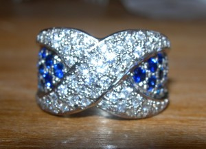 saphire & diamond ring (5)